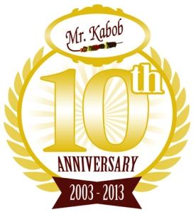 Mr. Kabob 10th Anniversary