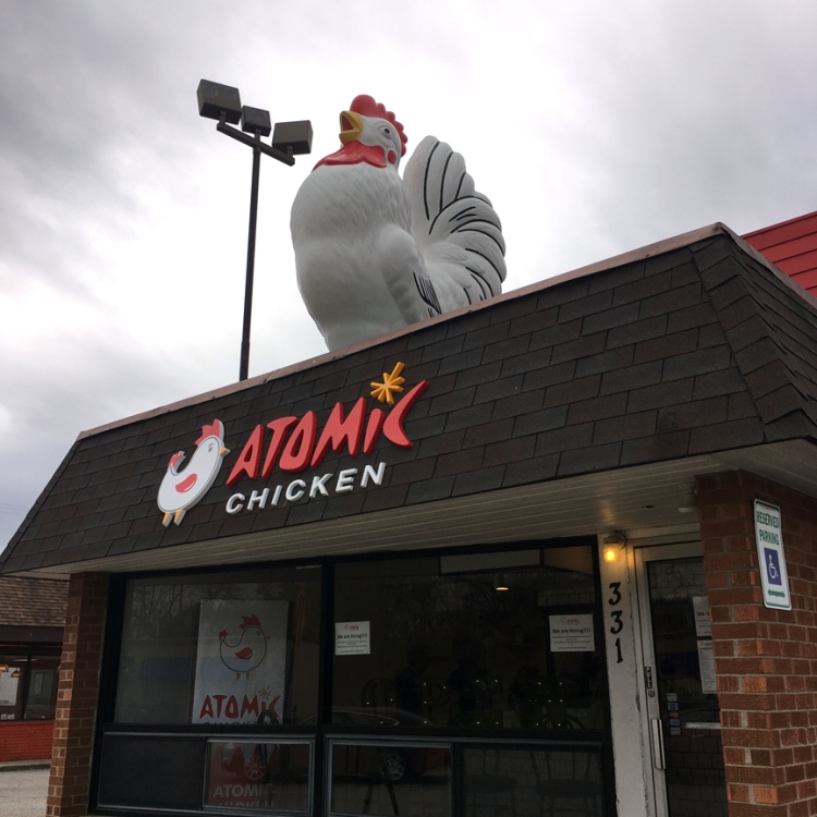 Atomic Chicken Clawson