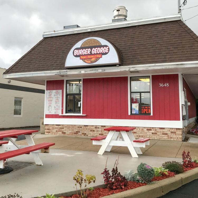 Burger George Division Ave Wyoming Michigan