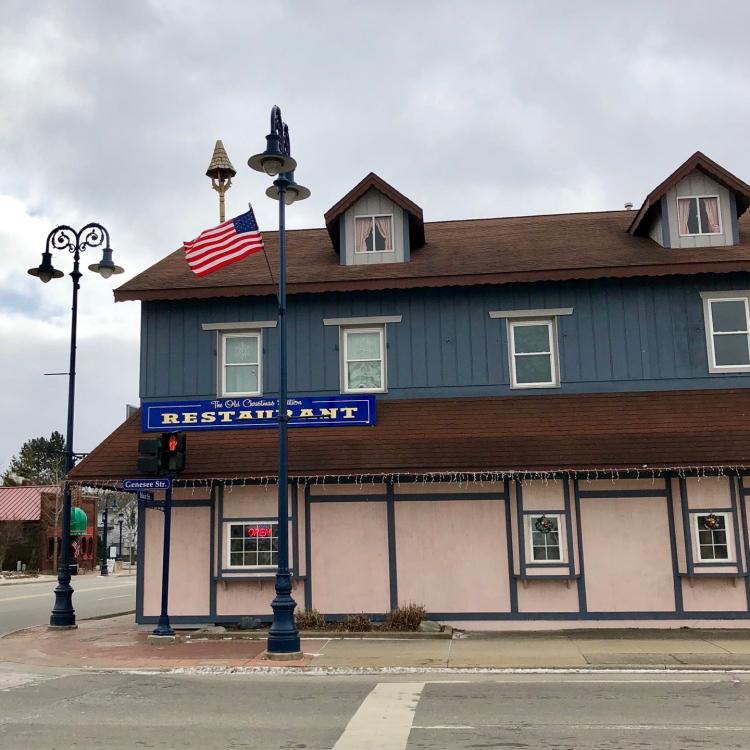 Old Christmas Station Restaurant Frankenmuth