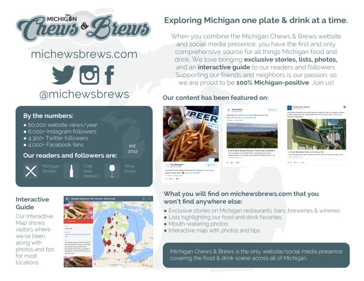 Michigan Chews & Brews